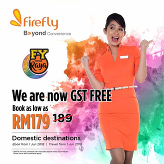 FIREFLY AIRLINES FOR YOUR RAYA!