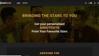 GUESTSTAR, YOUR PERSONALISED FAVOURITE STARS VIDEO CONTENT