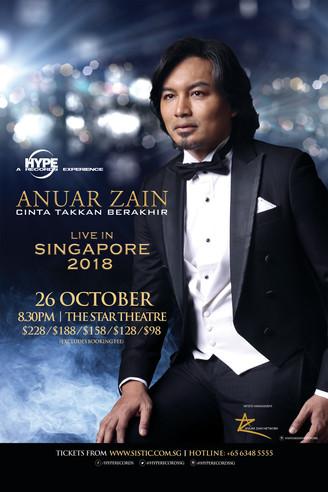Anuar Zain Akan Beraksi Di Singapura Oktober Ini