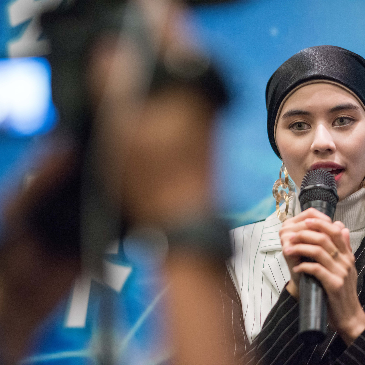 Singer Siti Nur Masyitah Mohd Yusoff, be