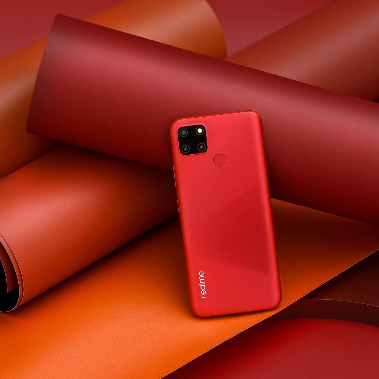 realme C12 - Coral Red