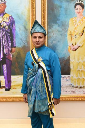 Boy Iman Sah Dapat Gelaran Datuk D.I.M.P