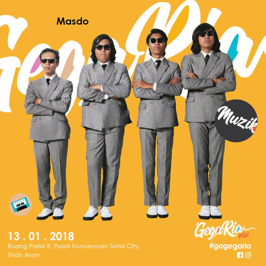 Gegaria Artist (Concert) Main BM-02