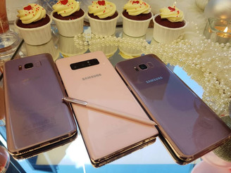 SAMSUNG MALAYSIA CELEBRATES THE ARRIVAL OF THE PINKS!