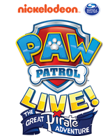 "NICKELODEON'S PAW PATROL LIVE! ""THE GREAT PIRATE ADVENTURE"" DI ISTANA BUDAYA"