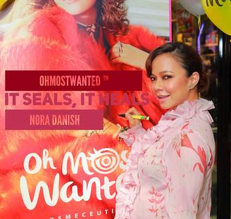 """It Seals, It Heals"", Jaminan Nora Danish Untuk OhMostWanted™"