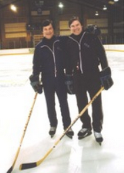 Miracle on Ice, Ryan Walter and Kurt Russell