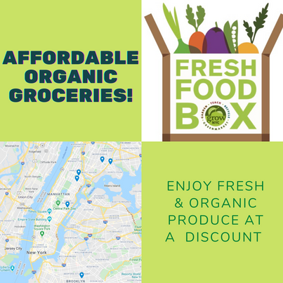 Where to buy affordable organic groceries in NYC