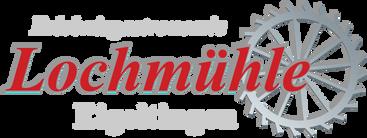 Logo Lochmuehle Outdoor Escape Refugium Immendingen