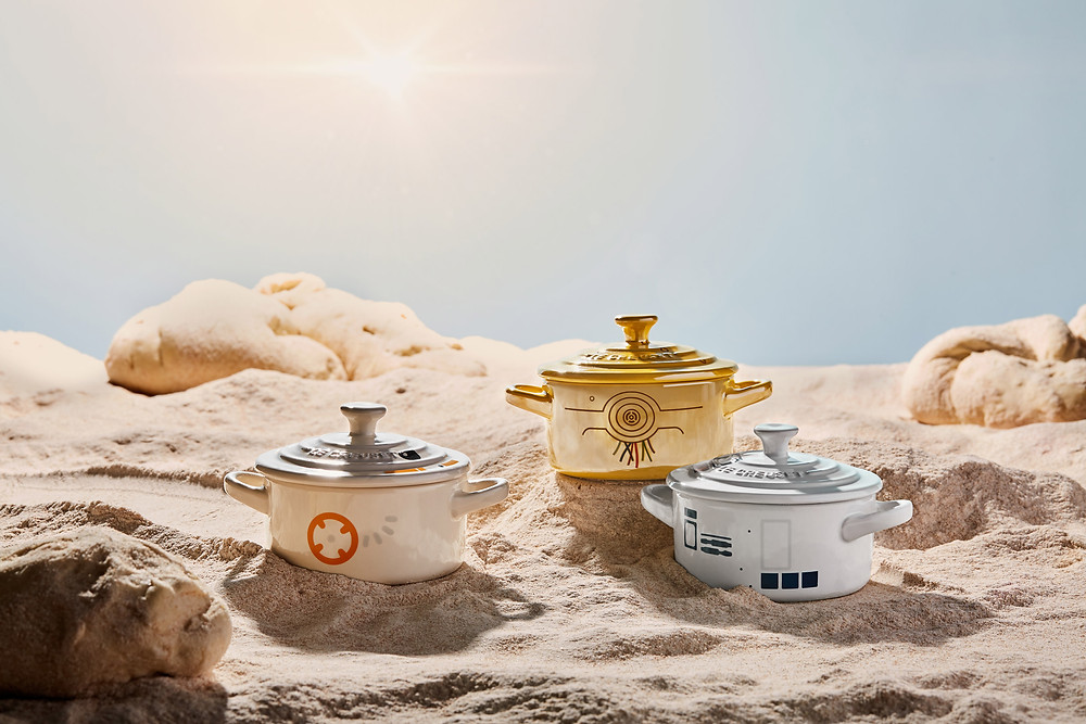 Stoneware Petite Round Casserole R2-D2, BB-8, C-3PO