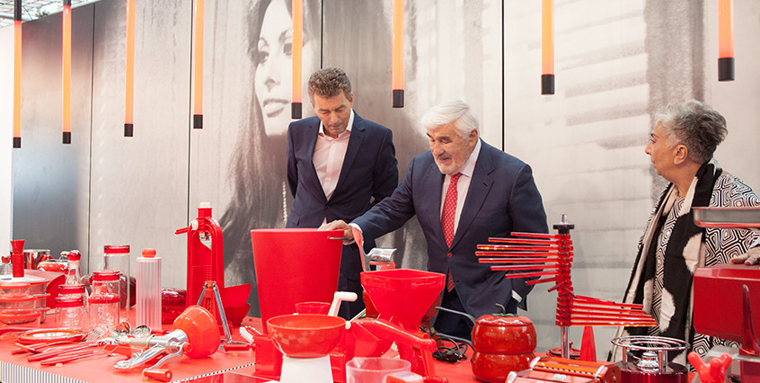 Mario Adorf, designer Paola Navone