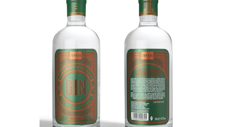 Tovess Single Batch Dry Gin