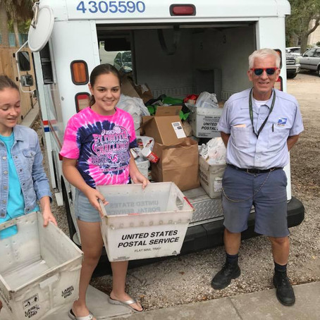 5/12/2018: USPS 26th Stamp Out Hunger Drive