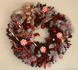 Holiday Elf Wreath