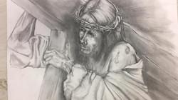 Christ carring the cross