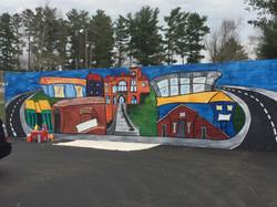 bike park mural