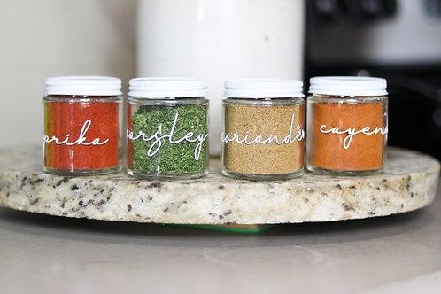 Essential Spice Jar