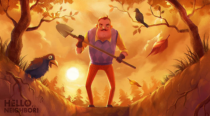 como descargar hello neighbor oficial para pc