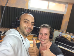 Recording with Idan Raichel