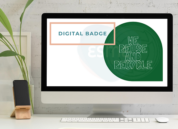 Reuse and Recycle digital badge