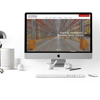 Industrial website by ESME Creative