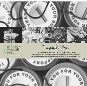 Charity box graphic