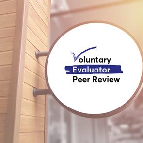 Voluntary Evaluator Peer Review