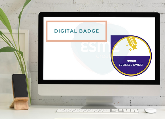 Proud Business Owner digital badge