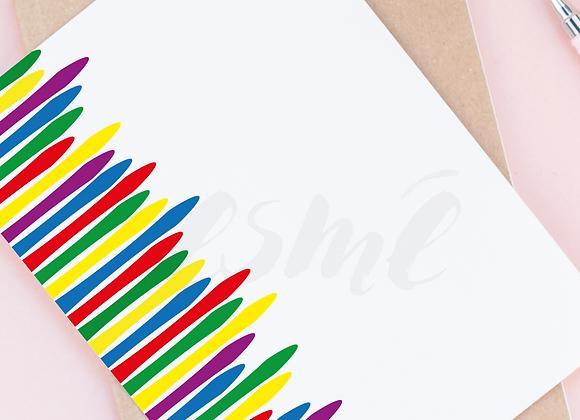 Border graphic - 'Colourful'
