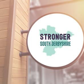 Stronger South Derbyshire Logo