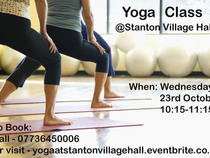 Yoga Class!