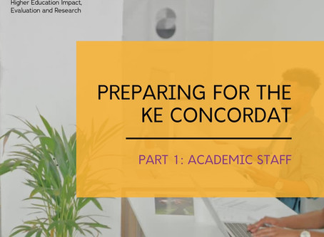How might the KE Concordat impact academic staff?