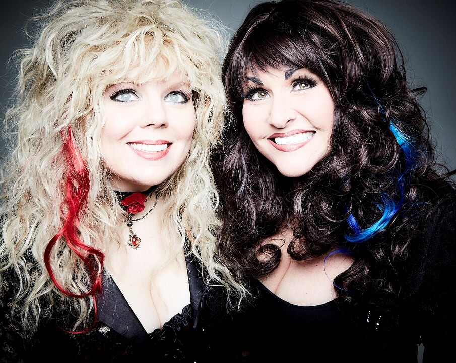 Casey Nicole and Kristy Johnson - Even It Up - The Ultimate Heart Tribute Band. (photo credit: Debra Gloria Photography)