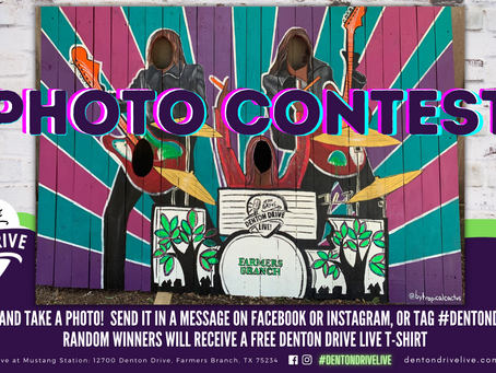 TAKE A PHOTO FOR A CHANCE TO WIN A T-SHIRT!