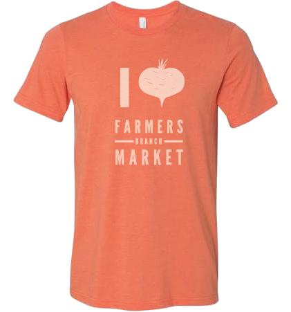 "I ""heart"" Farmers Branch Market Shirt"