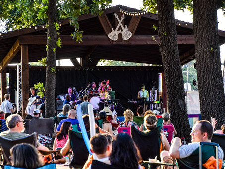 TEXAS BANDS HEAT UP THE SUMMER STAGE