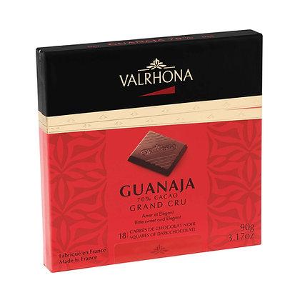 Coffret chocolat noir Ganaja grands cru 70% cacao -  90g