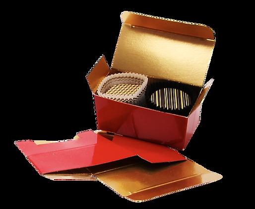 Mini ballotin 4 bonbons chocolat