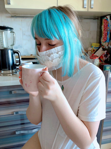 Mask XIII (Teatime)