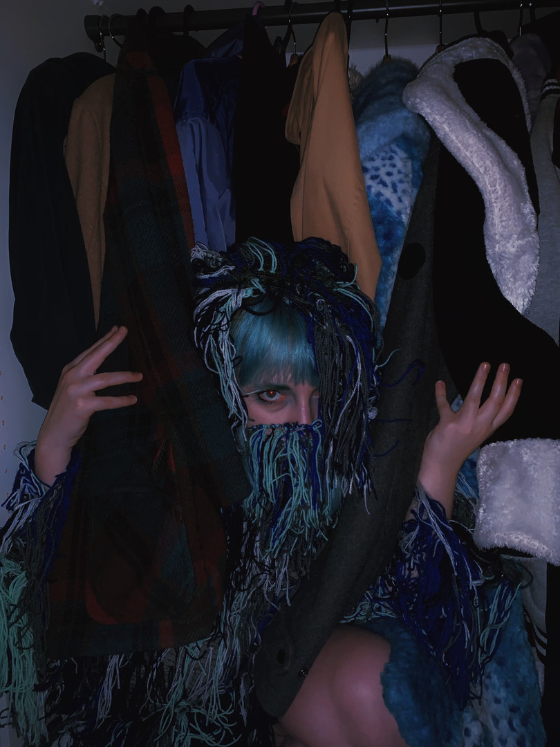 Mask VII (Skeleton in the Closet)