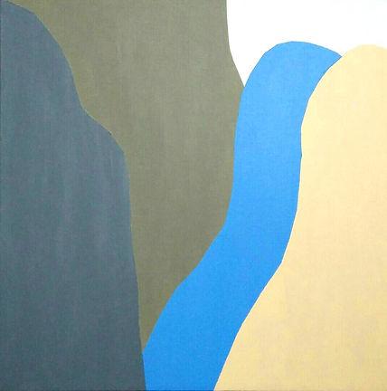 Untitled (Summer 2), acrylic on canvas,