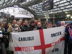 Everton away trip