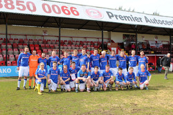 LB squad v England- Welling 2016