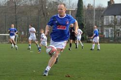 Blues Legend John Halpin plays v LB team