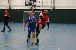 LB v Orient supporters walking football