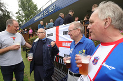 Nigel Clibbens with members Sutton CC 2021