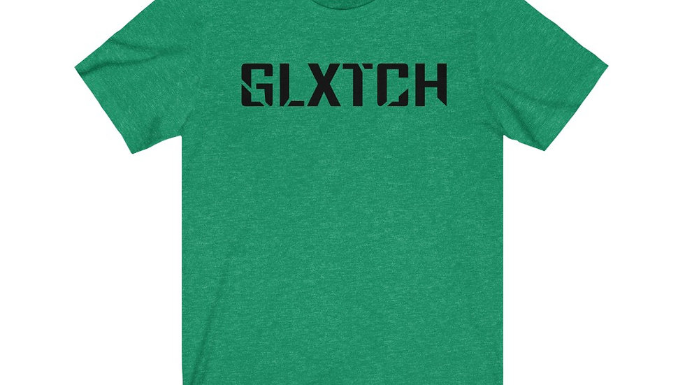 "Super Soft Tee! ""GLXTCH"""