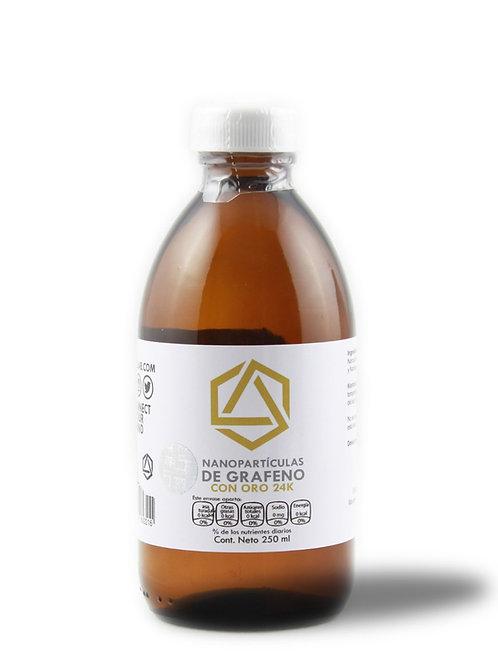 Grafeno con Oro 250 ml