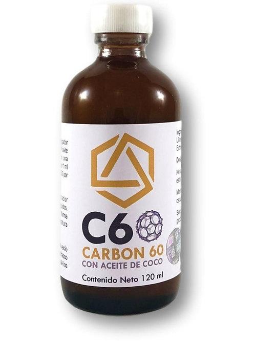 C60 - Carbón 60 con Aceite de Coco