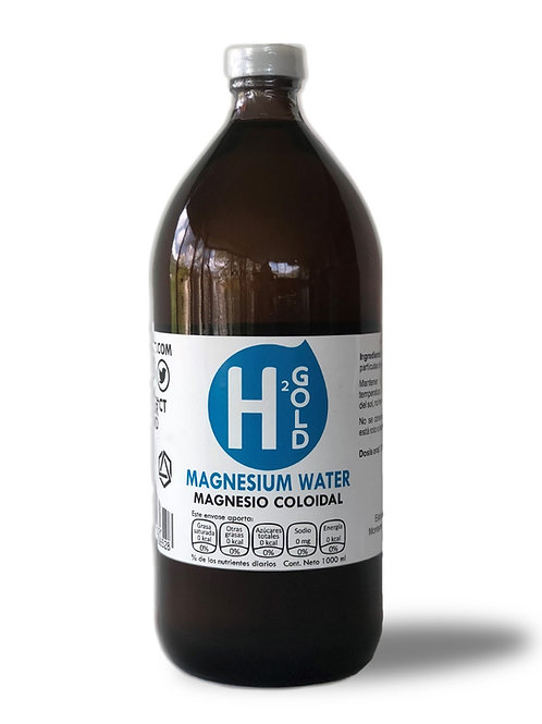 Magnesio Coloidal de 1 Litro a 20 ppm